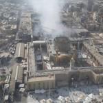 محافظ النجف العراقية ينفي شبهة الطائفية عن حريق مرقد الإمام علي