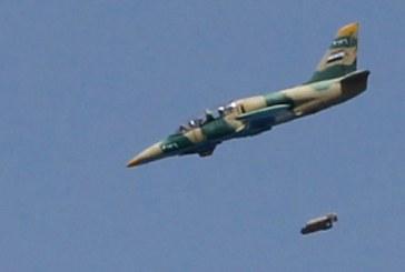32 قتيلا من المعارضة السورية بغارات لطائرات النظام على ريف حلب