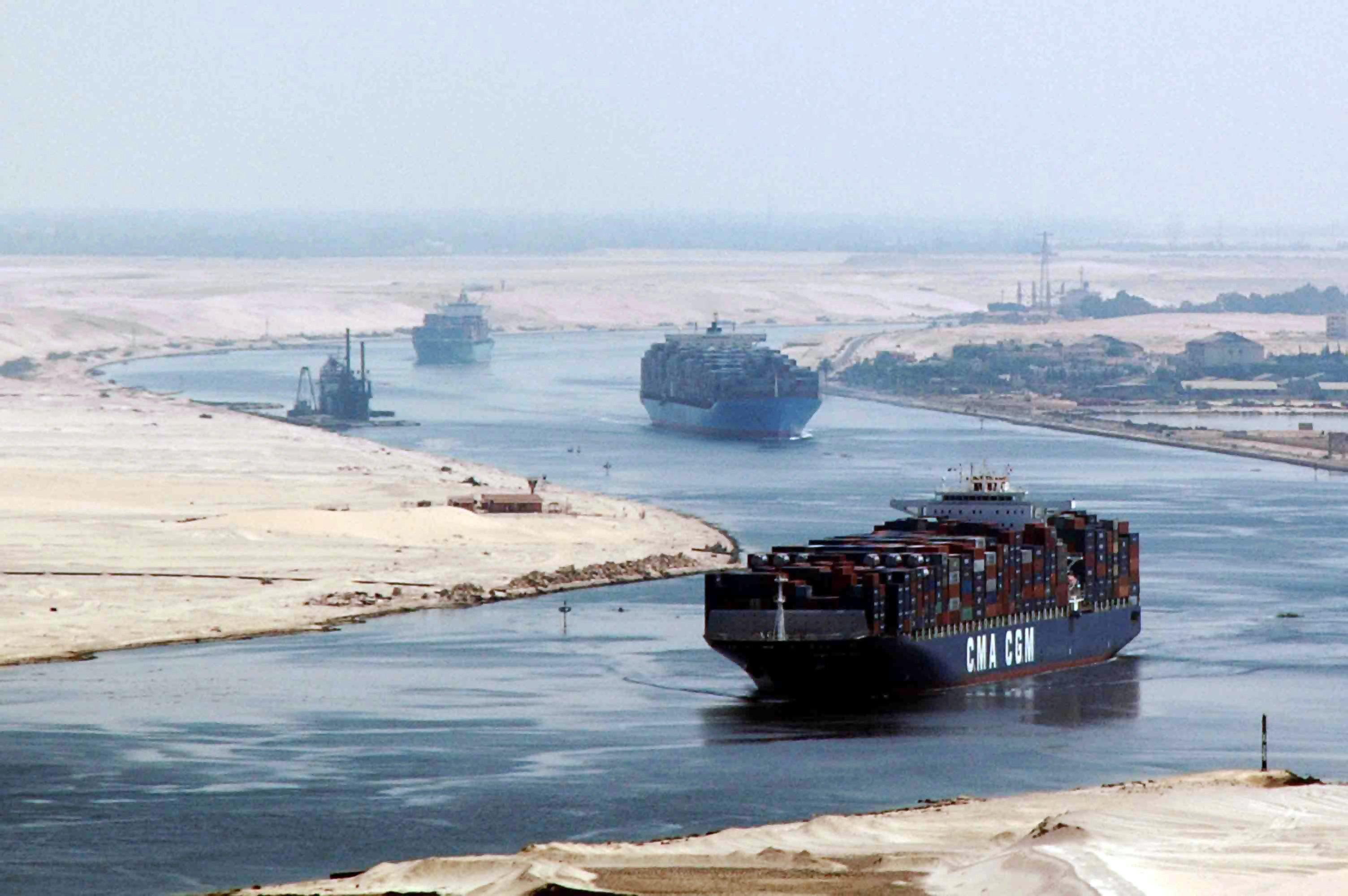ارتفاع إيرادات قناة السويس المصرية إلى 470.6 مليون دولار في أغسطس
