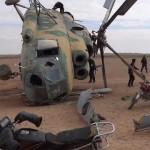 مقتل 12 في سقوط طائرة مروحية غربي طرابلس