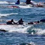 غرق سفينة تقل 122 راكبا قبالة سواحل إندونيسيا