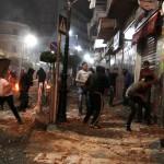 إصابة 27 فلسطينيا في مواجهات مع قوات الاحتلال بنابلس