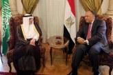 الجبير: مصر والسعودية يمثلان جناحا المنطقة العربية والتنسيق بينهما ضرورة