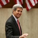 كيري يصل فيينا للمشاركة في اجتماع دولي حول سوريا