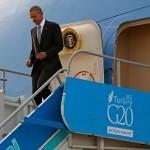 أوباما يصل تركيا.. وتفجيرات باريس تلقي بظلالها على