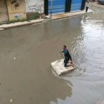 بعد موجة السيول الأخيرة .. الإسكندرية تترقب