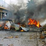 مراسلنا: سقوط جرحى بتفجير أمام مقر حزب الدعوة بمدينة كركوك شمال العراق