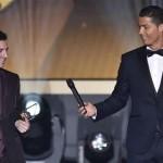 رونالدو يعترف: ميسي سيحصل على الكرة الذهبية