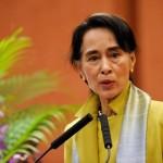 زعيمة ميانمار تصل إلى جوا الهندية لحضور فعاليات على هامش بريكس