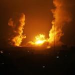 طائرات الاحتلال تقصف جنوب غزة بسلسلة غارات