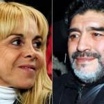مارادونا يكسب دعوى قضائية ضد طليقته بتهمة