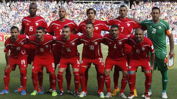 نتيجة بحث الصور عن تشكيل منتخب فلسطين امام السعودية