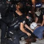 تركيا تقمع مسيرة احتجاج على منع التجول في