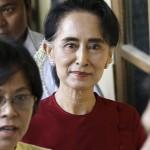 مباحثات بين زعيمة المعارضة ورئيس برلمان ميانمار قبل جلسة مهمة