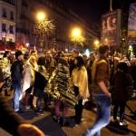 شاهد عيان: اثنان من منفذي هجمات باريس خرجا من سيارة سوداء كبيرة