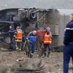 مقتل 7 أشخاص بعد خروج قطار عن القضبان أثناء تجربته شرق فرنسا