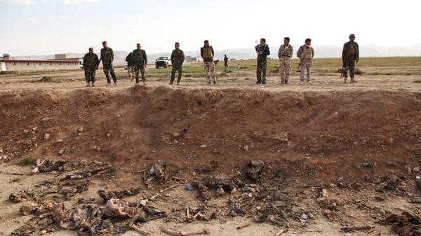 اكتشاف مقبرة جماعية لإيزيديين قرب سنجار العراقية