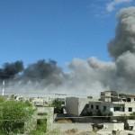 المرصد السوري: اشتباكات في حمص.. وغارات التحالف تستهدف ريفي الرقة وحماة