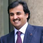 التلفزيون القطري يبرز تصريحات أمير قطر
