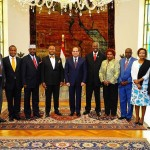 السيسي يلتقي وفدا برلمانيا من كينيا
