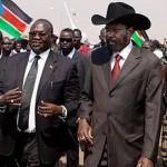سلفا كير ومشار يشكلان حكومة انتقالية في جنوب السودان