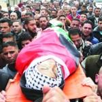 استشهاد شاب فلسطيني برصاص الاحتلال قرب