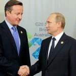 بويتن: على روسيا وبريطانيا توحيد الجهود لمحاربة الإرهاب