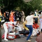 مقتل تايلاندي و12 سائحا ماليزيا بتحطم حافلة في تايلاند