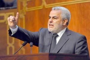 عبدالإله بنكيران رئيس وزراء المغرب