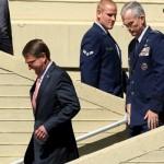 وزير الدفاع الأمريكي يزور حاملة الطائرات الفرنسية شارل ديجول