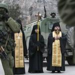 اشتباكات بين أتباع كنيستين روسية وأوكرانية