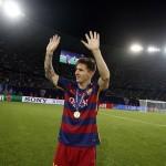 ميسي جاهز للعودة لتشكيلة برشلونة أمام ملقة