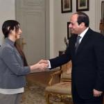 4 لقاءات ومنحة دراسية.. حصيلة زيارة الإيزيدية نادية مراد للقاهرة