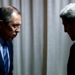 موسكو: لافروف وكيري ناقشا الأزمة السورية في مكالمة هاتفية