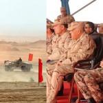 وزيرا دفاع مصر والأردن يشهدان تدريبا عسكريا مشتركا