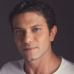 صور  آسر ياسين يستقبل مولوده الجديد قبل انتهاء 2015