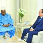 السيسي يؤكد دعم مصر لاتفاق السلام في جنوب السودان