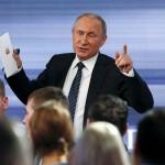 بوتين: موسكو ستتعاون مع الأسد وأمريكا بشأن أزمة سوريا