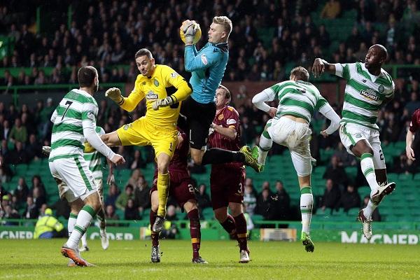 مذرويل يلحق الخسارة الثانية بسلتيك في الدوري الأسكتلندي