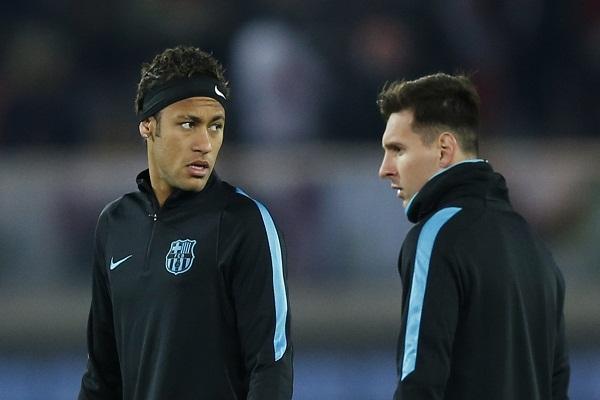 ميسي ونيمار في تشكيل برشلونة بنهائي كأس العالم للأندية