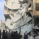36 قتيلا في غارات يعتقد أنها روسية على إدلب