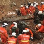 ارتفاع حصيلة المفقودين في انهيار أرضي بالصين إلى 91 شخصا