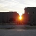 تعامد الشمس على معبد الكرنك