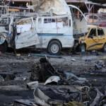 مقتل ما لا يقل عن 17 شخصا في تفجير سيارتين ملغومتين شمال بغداد