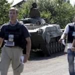 المراقبون الأوروبيون يتعرضون لإطلاق نار شرق أوكرانيا