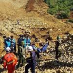 مخاوف من انهيار أرضي جديد بأحد مناجم ميانمار