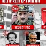 صور  بعد سمير القنطار.. هؤلاء أيضا على قائمة اغتيالات إسرائيل