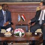 مصر والصومال تبحثان تعزيز التعاون الأمني
