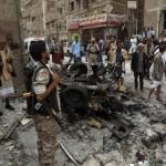 14 قتيلا في تفجيرات المكلا باليمن