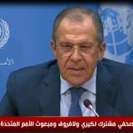 فيديو| لافروف: قرار مجلس الأمن بشأن سوريا خطوة لإنهاء النزاع السوري